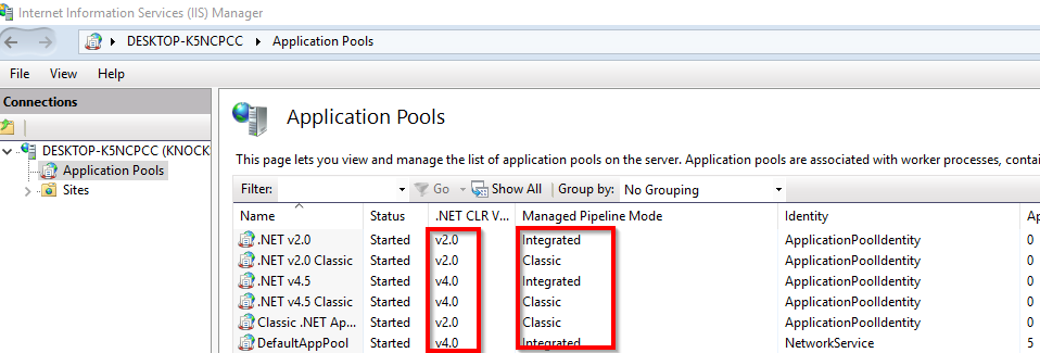 How to Enable Classic IIS App Pools With Retrace