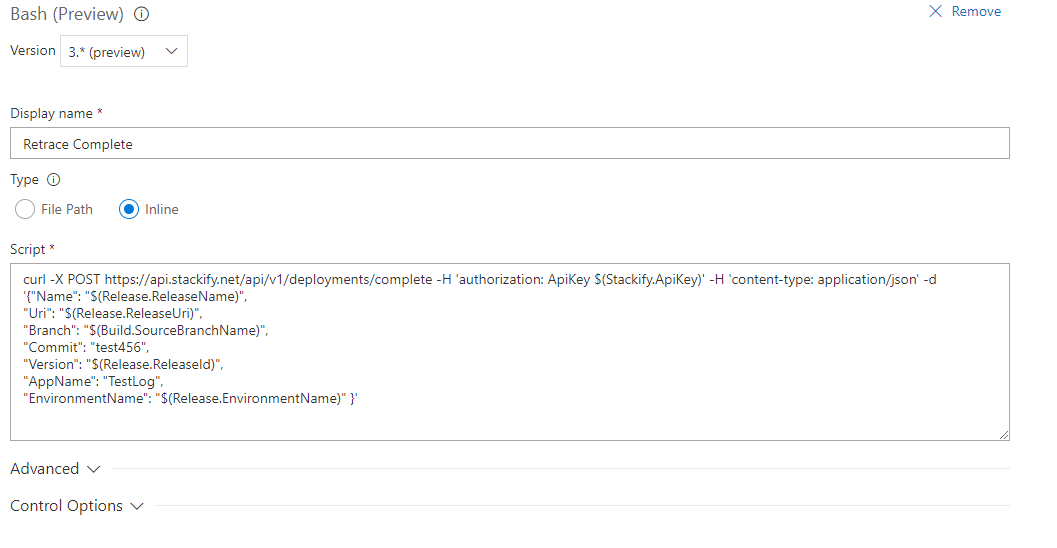 Visual Studio Team Services Deployment Tracking Integration with Retrace